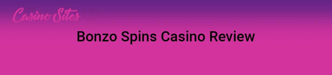Bonzo Spins Casino Get Your Exclusive Bonus Offer Today