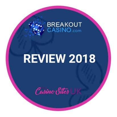 Casino Break out review logo