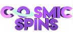 new casino cosmic spins logo