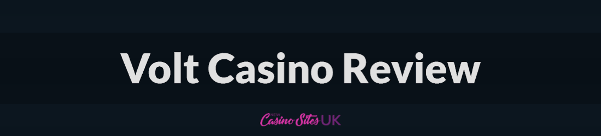 volt casino uk